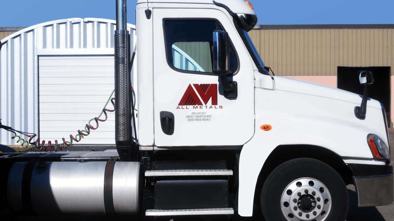 truck profile view